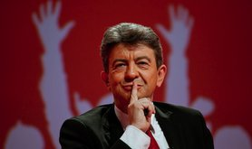 Left Front Leader Jean-Luc Mélenchon. Demotix/Xavier Malafosse. All rights reserved.