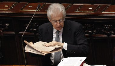 So, what's next Mr Monti? - Demotix/Giuseppe Lami. All Rights Reserved.