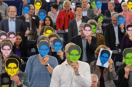 MEPs support asylum for Snowden. Flickr/greensefa. Some rights reserved.