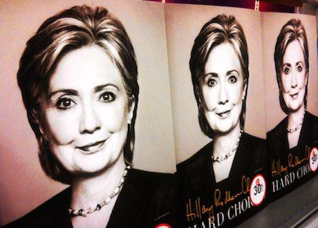 Hillary Clinton's autobiography, Juni 2014. Mike Mozart/Flickr. Some rights reserved.