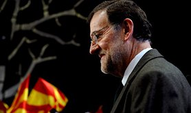 Spanish Prime Minister Mariano Rajoy. Demotix/Lino De Vallier. All rights reserved.
