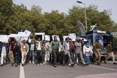 Dalit protests, New Delhi, 2013. Demotix/Louis Dowse. All rights reserved.