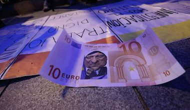 After a protest against European austerity policies in Madrid. Demotix/Rodrigo Garcia. All rights reserved.