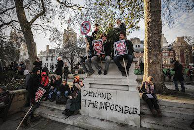 Tuition fees protest, London, 2010. Demotix/Guy Corbishley. All rights reserved.