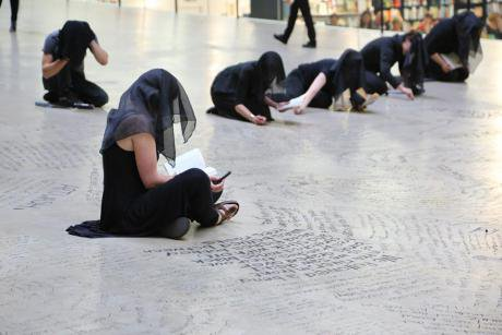 The June 2015 performance by Liberate Tate.