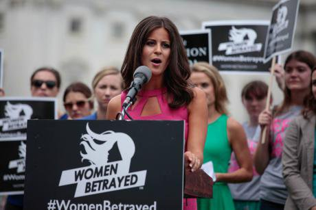 Lila Rose, president of American anti-abortion campaign group Live Action.