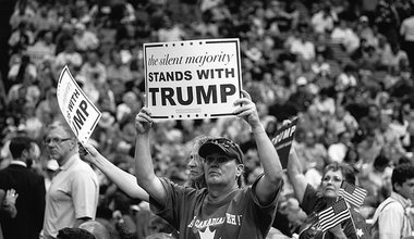 """""""the silent majority stands with trump"""""""