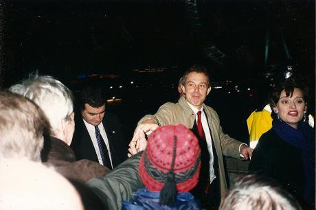 Tony Blair and Cherie Booth