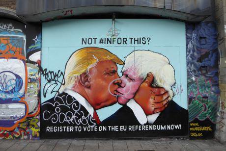 Not #InFor this? Anti-Brexit graffiti in Bristol. Flickr/Duncan C. Some rights reserved.