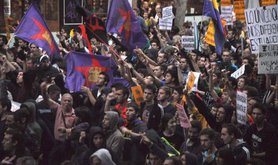 Anti-Monarchy protests had taken place in Spain in September 2013. Demotix/Fernando Capdepon Arroyo. All rights reserved.