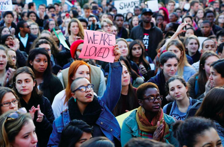March of Resilience. Yale Daily News/Alex Zhang. All rights reserved.