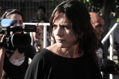 Camila Vallejo, former leader of the 2011 student movement. Demotix/prensachile3. All rights reserved.