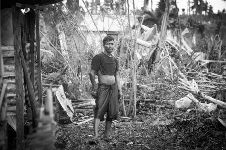 A man from Bantayan Island, Philippines. Demotix/Andrew Collins. All rights reserved.