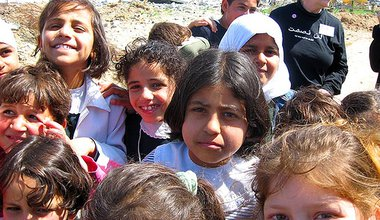 Young Girls in Gaza