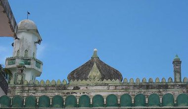 Mosque in Mombasa Old Town, Kenya.