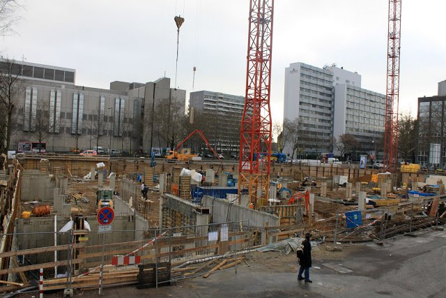 Construction of the new Cologne Mosque