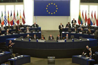 Session at European Parliament in Strasbourg. Demotix/Serge Mouraret. All rights reserved.