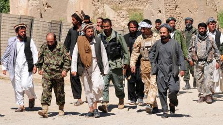 Taliban insurgents turn themselves in to Afghan National Security Forces, 2010