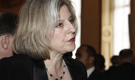 Home Secretary of the UK, Theresa May. Flickr/Foreign and Commonwealth Office. Some rights reserved.