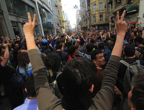 Anniversary of the Gezi Park protests. Demotix/Riza Aydan Turak. All rights reserved.