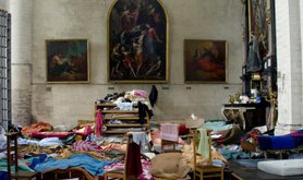 Living conditions of Brussels' undocumented migrants, 2009