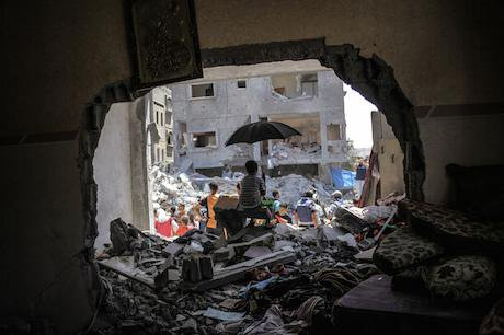 Three Hamas leaders killed in the Gaza Strip. Ibrahim Khader/Demotix. All rights reserved.
