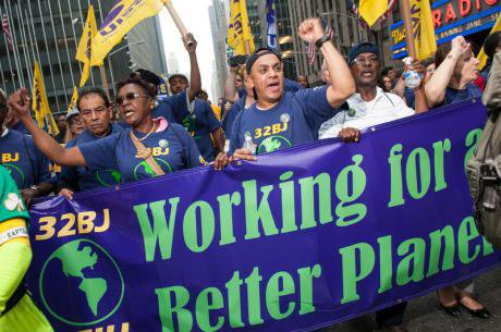 The People's Climate March, New York City, 22nd September 2014.