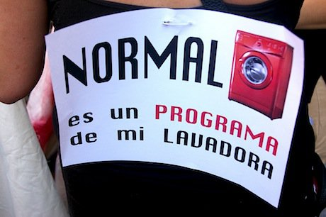 """'Normal is a programme on my washing machine"""". Flickr/gaelx. Some rights reserved."""