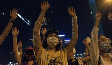 Occupy Central protesters