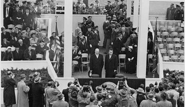 1953, when Eisenhower and Nixon supported Iran's first nuclear reactor.
