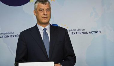 The Prime Minister of Kosovo in Brussels. Demotix/Aurore Belot. All rights reserved.