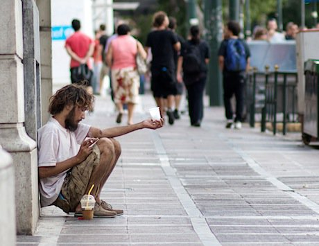 In Athens, Greece. Flickr/Mehran Khalili. Some rights reserved.