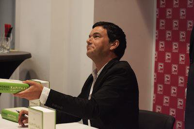 Thomas Piketty. Demotix/Jaap Arriens. All rights reserved.