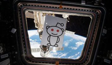 First ever NASA Reddit Ask Me Anything from space.