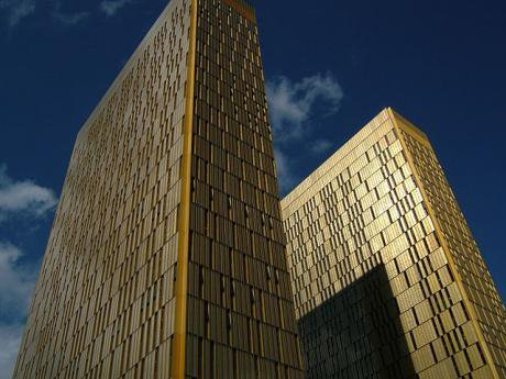 Towers, European Court of Justice at Luxembourg.