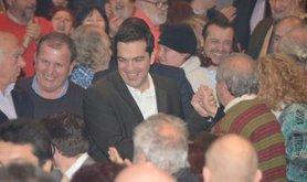 Alexis Tsipras' first pre-election speech, December 29, 2014.