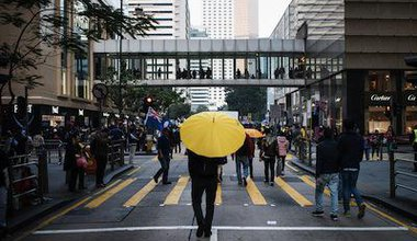 The first post-Occupy rallies in Hong Kong, February 2015. Demotix/David Smith. All rights reserved.