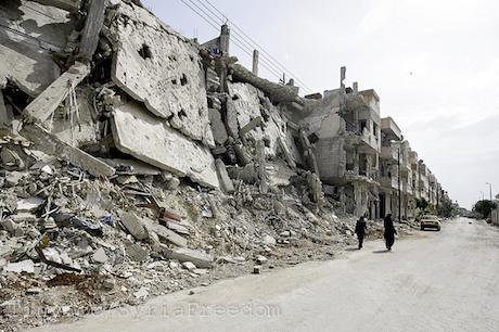 Homs, Syria, 2012. Flickr/Freedom House. Some rights reserved.