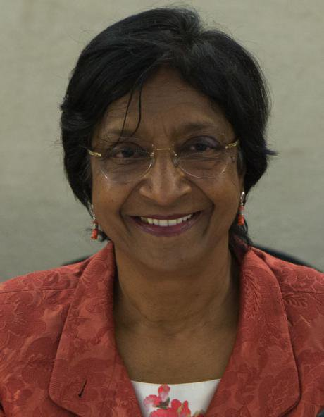 Navi Pillay, High Commissioner of Human Rights, 2008 - 2014.