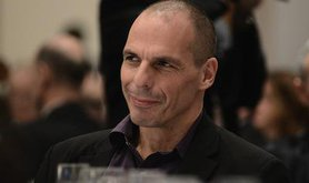 Yanis Varoufakis, Finance Minister of Greece. Demotix/Wassilis Aswestopoulos. All rights reserved.