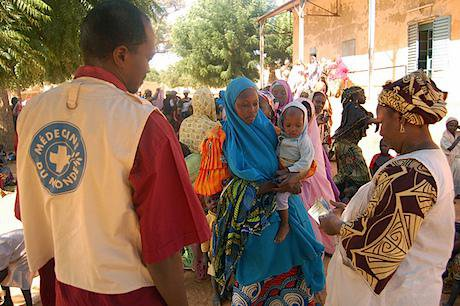 A Médecins du Monde operation in Niger. Doctors of the World UK/Martin Courcier. All rights reserved.