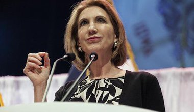 Carly Fiorina. Demotix/Brian Frank. All rights reserved.