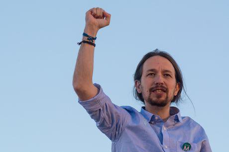 Pablo Iglesias, Secretary General of Podemos. Marcos del Mazo/Demotix. All rights reserved