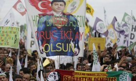 HDP's massive election rally in Istanbul, May 30, 2015.
