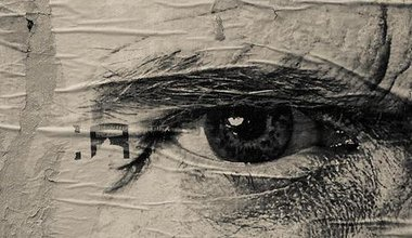 Eye mural, Paris. Flickr/Hans Olofsson. All rights reserved.