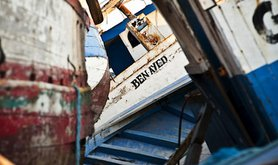 A migrant boat cemetery in Lampedusa. Demotix/Michele Lapini. All rights reserved.