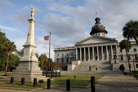 The contested Confederate flag in Columbia. Jason Eppink/Flickr. Some rights reserved.