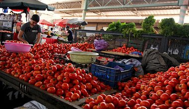 A morning market in Agadir, Morocco. Demotix/Michal Fludra. All rights reserved.