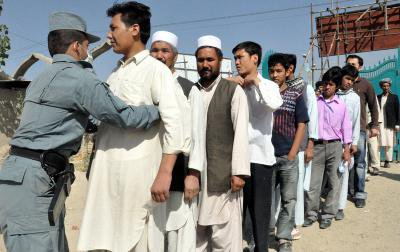 Afghanistan elections security checks.jpg