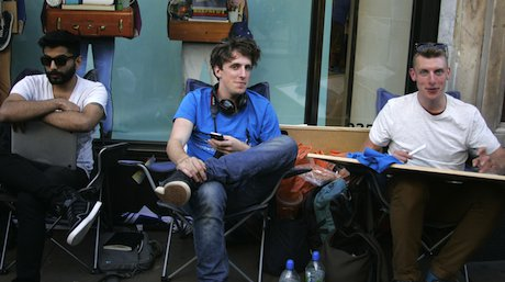 Fans queue for iPhone 5 at the Regent Street Apple store in London. Demotix/Bimal Sharma. All rights reserved.